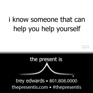 i know someone that can help you help yourself