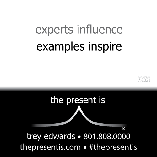 experts influence examples inspire